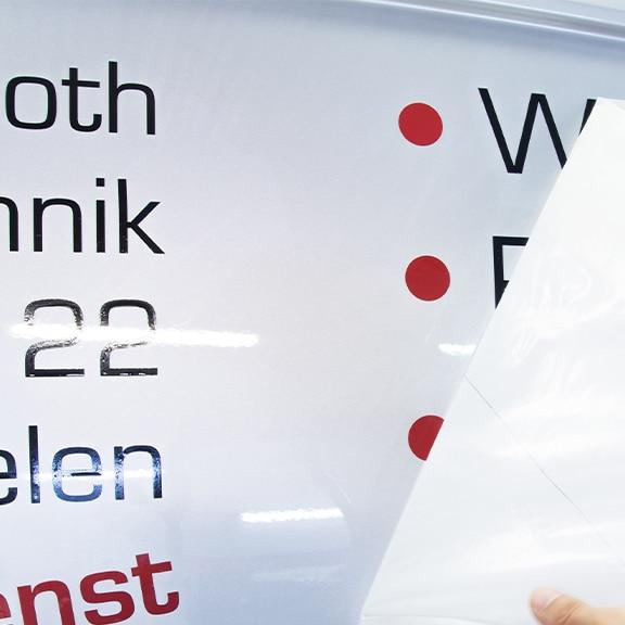 Kfz-Beschriftung Werbetechnik Sabine Frank